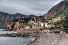 Sidmouth, Devon - the western end