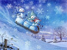 jamie carter snowman | Снежная баба. « Николлетто