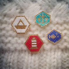 Et la petite dernière de la série  ⛵ #miyuki #jenfiledesperlesetjassume #perlezmoidamour #brochesmarines
