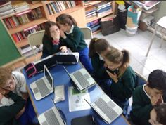 Students in Argentina discover gossip!