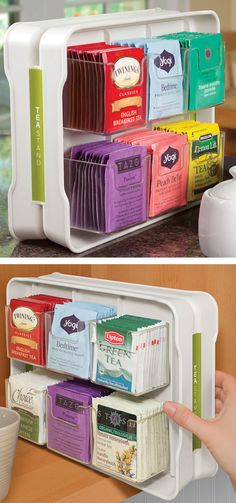 Tea Stand | Tea Bag Organizer---Pinning for Kelly!!