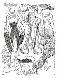 The Opulent Era Paper Dolls by Charles Ventura - Maria Varga - Picasa Web Albums