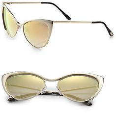 Tom Ford Nastasya Metal Cat's-Eye Sunglasses by Binda Fashion