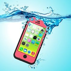 Funda Impermeable para iPhone 5C, iThroughTM Funda Impermeable para iPhone…