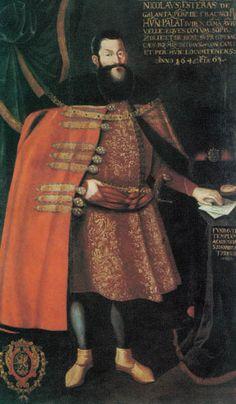 Miklós Esterházy. Portrait, Hungarian National Museum