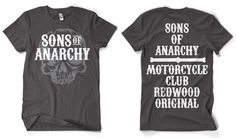 Sons Of Anarchy - Motorcycle Club - Redwood Original T- Shirt