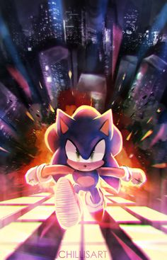 Sonic by chillisart