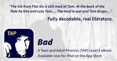 Fully decodable ebooks for teen and adult emergent readers.  Orton Gillingham and MSL  http://www.focusontap.com/
