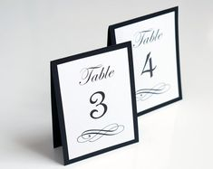 Elegant wedding table numbers in a single sided tent style, they can be used at your wedding reception table. The table numbers are layered tent Wedding Reception Seating, Seating Chart Wedding, Wedding Table Numbers, Seating Charts, Table Wedding, Trendy Wedding, Elegant Wedding, Table Name Cards, Gold Wedding Invitations
