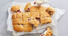 With only 5 ingredients, these easy baked raspberry and lemonade scones are the ultimate afternoon sweet treat.