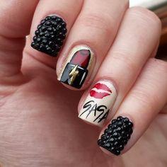 kells_hotz gaga#nail #nails #nailart
