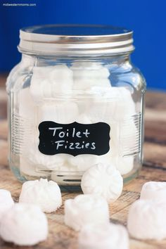 How to Make Toilet Fizzies. A fun way to clean the toilet. Even the kids will want to help!