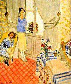 Henri Matisse - Le Boudoir, 1921