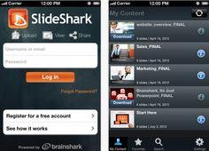 Ahora puedes ver archivos de Power Point en tu iPhone gracias a SlideShark