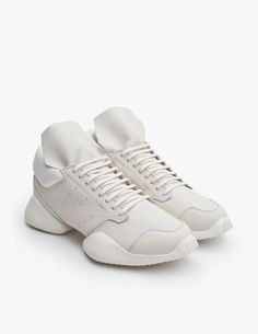 Rick Owens - Adidas Runner White | TRÈS BIEN