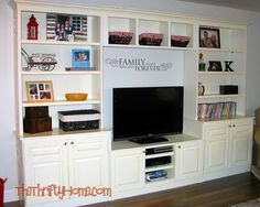 uhmazing entertainment center refab