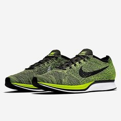 Did you know: Volt Flyknit Racers are coming back in August. Get a detailed look in the Nike Flyknit category on SneakerNews.com. #nicekicks #followback #sneakerholics