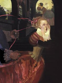 dark fairy tales | Dark Fairy Tale Illustrations — sub