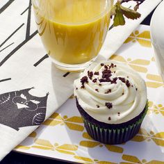 Sweet morning moment with Butterfly Tray & HUHUU Teatowel by Sagalaga Design