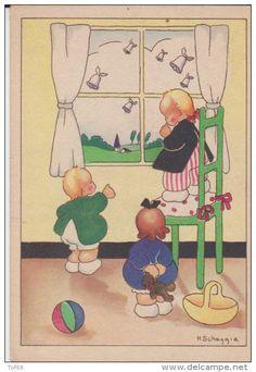 h scheggia enfants illustrateurs - Delcampe.fr