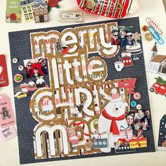 Merry Christmas - Layout Dan Marques com Scrapdiary Christmas Layout, Merry Christmas, 12x12 Scrapbook, Scrapbooking, Dan, Holiday Decor, Home Decor, Merry Little Christmas, Homemade Home Decor