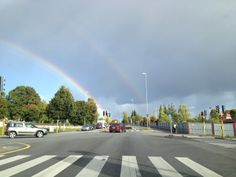 A double rainbow. Norway, Rainbow, Country, Pictures, Beautiful, Photos, Rainbows, Rural Area, Rain Bow
