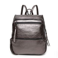 7ad1a5571f0b 2015 Hot Sale Leather Designer Fashion Women Backpack Bag Red Backpack