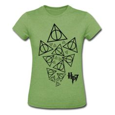 Amazon.com: Spreadshirt Women's Harry Potter 7 DH T-Shirt: Clothing