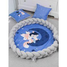 Luxury 2in1 fonott játszószőnyeg - Herceg, Róka szürke Baby Crib Sets, Baby Cribs, Baby Dino, Baby Nest, Baby Shower Diapers, Stuffed Toys Patterns, Diy Fashion, Kids Playing, Baby Items