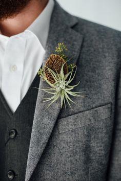Ruffled - photo by Monika Gauthier Photography http://ruffledblog.com/earthy-industrial-bohemian-wedding-inspiration   Ruffled