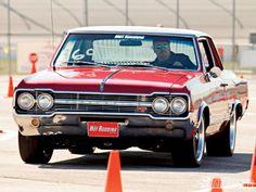 1965 Oldsmobile Cutlass Baer Brakes - Detroit Speed Brake Booster - Popular Hot Rodding Magazine