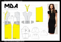 ModelistA: A4 NUM 0092 DRESS CONTINUAÇÃO