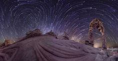 [Video] Photographer Vincent Brady captures a 360-degree panoramic night sky time-lapse using 4 cameras.