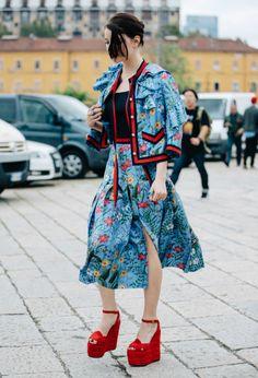 Let´s Sunday: Mila Fashion Week S/S 2017 Street Style