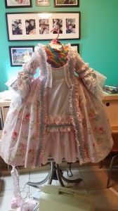 Historically accurate (mostly) princess dress for a child @Emma Marek Take note for another year's Halloween!