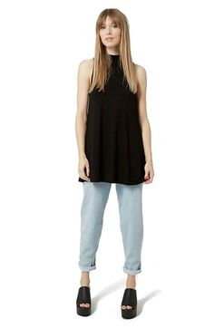 Topshop High Neck Jersey Tunic | Nordstrom
