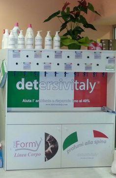 Distributore automatico di Detersivi alla Spina