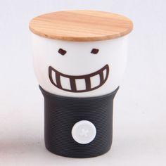 Button Smiley Mug • Chemical Locha