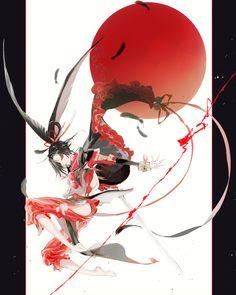 Manga Art, Anime Manga, Anime Guys, Anime Art, Touken Ranbu Characters, Anime Characters, Character Inspiration, Character Art, Katana Girl