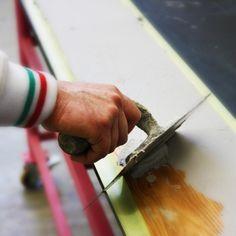 La produzione di Rektina è un processo manuale e artigianale completamente italiano #Rektina