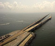 Pont-tunnel de Chesapeake Bay - Virginie