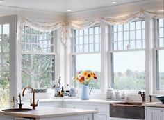It's also tempting to use these seashell window treatments as an inspiration for a DIY project, and glue shells onto curtain rods and tiebacks. Description from completely-coastal.com. I searched for this on bing.com/images