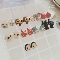 Ghibli earrings