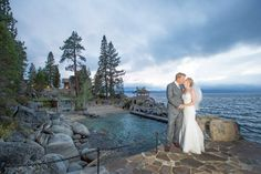 Intimate Lake Tahoe wedding with bohemian and contemporary details from @melinawallisch and @summitsoiree
