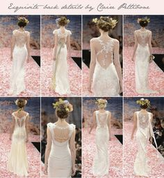@Claire Pettibone is the undisputed queen of beautiful back details!   Which is your favourite?