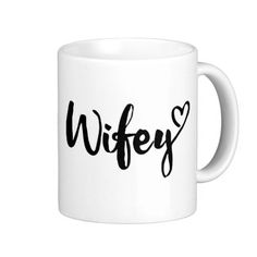 wifey mug, personalized wifey mug, couple mug,