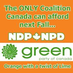 #CANpoli #NDP #GreenPartyOfCanada