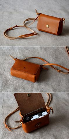 Leather Pouch | Duram Factory http://minivideocam.com/product-category/camera-cases/