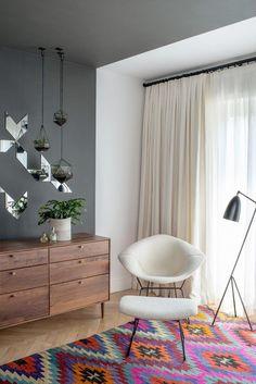19 vardagsrum som visar att en kelim-matta är en mycket bra idé - Sköna hem Beautiful mirror!