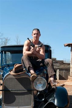 Shia in Lawless being a gansta haha